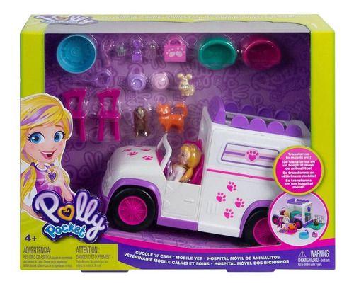 Polly Pocket Hospital Móvel De Bixinhos - Mattel Gfr04 FULL