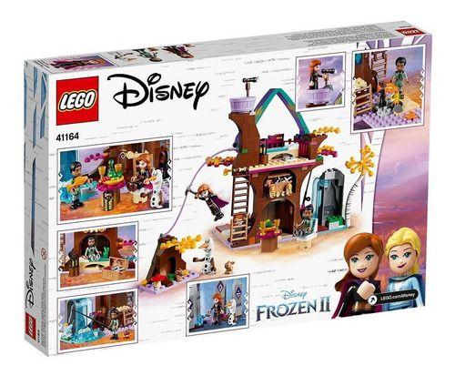 Lego Frozen 2 Disney A Casa Da Arvore Encantada - 302 Peças FULL