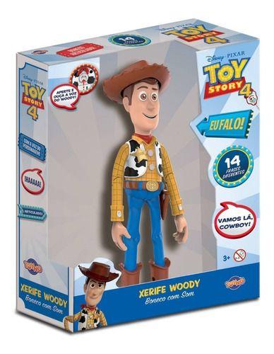 Boneco Woody C/ Falas E Betty Toy Story 4 - Toyng FULL