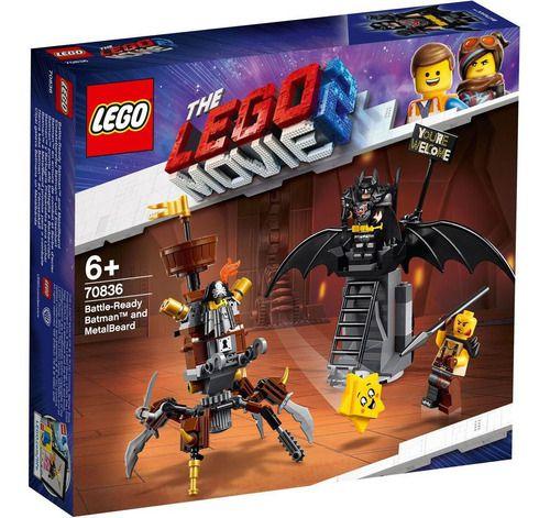 LLego Batman 168 Peças Lego Movie 2 Prontos Para Batalha FULL