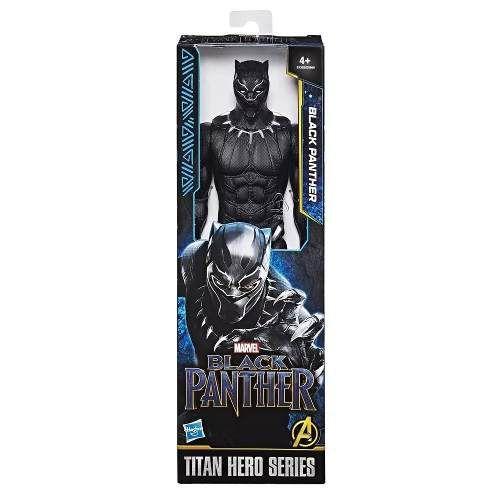 Boneco Pantera Negra Black Panther Hasbro Titan Hero Series