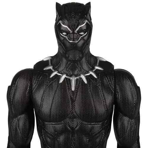 Boneco Pantera Negra Black Panther Hasbro Titan Hero Series FULL