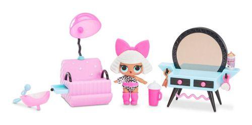 Boneca Lol Surprise Furniture Salão Lady Diva - Candide