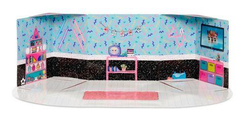 Boneca Lol Surprise Furniture Quarto Da Neon - Candide