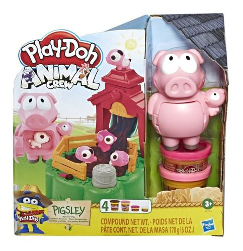 Play Doh Animal Crew Porquinho Na Fazenda - Hasbro E6723