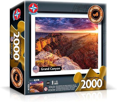 Quebra Cabeça Grand Canyon 2000 Peças Original - Estrela full