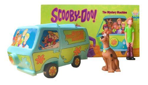 Boneco Scooby Doo Maquina De Misterio E Salsicha - Angel