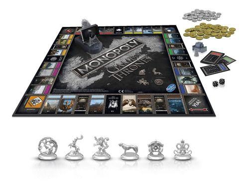 Jogo De Tabuleiro Monopoly Game Of Thrones Hasbro - E3278