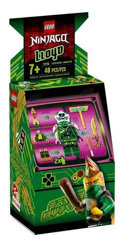 Lego Ninjago Lloyd Avatar Pod De Arcade 48 Peças - 71716 full