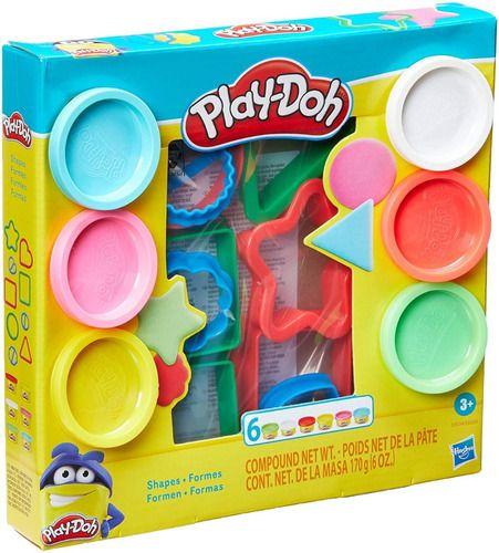 Play Doh Massinha Molde De Formas Geómetricas - Hasbro E8534 full
