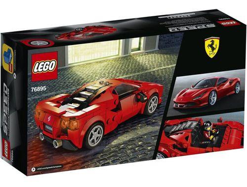 Lego Speed Champions Ferrari F8 Tributo 275 Peças-76895 full