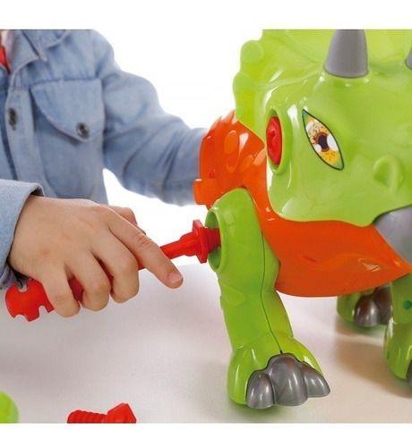 Brinquedo Infantil Dinossauro Triceratops Com Som - Maral full