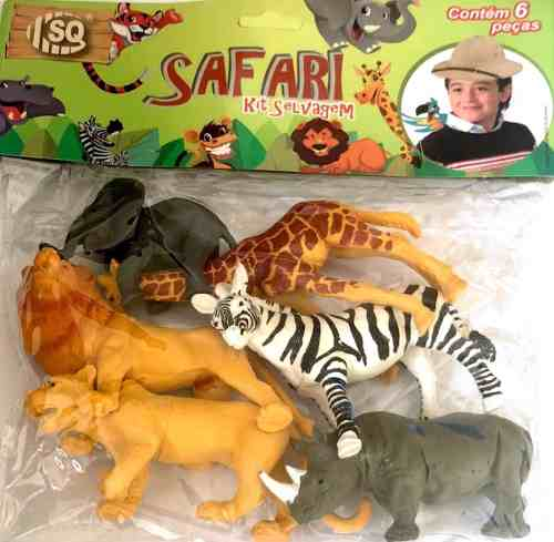 Safari - Kit Selvagem - Sq
