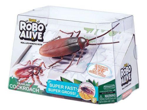 Robo Alive Barata De Brinquedo Com Movimento - Candide Zuru FULL