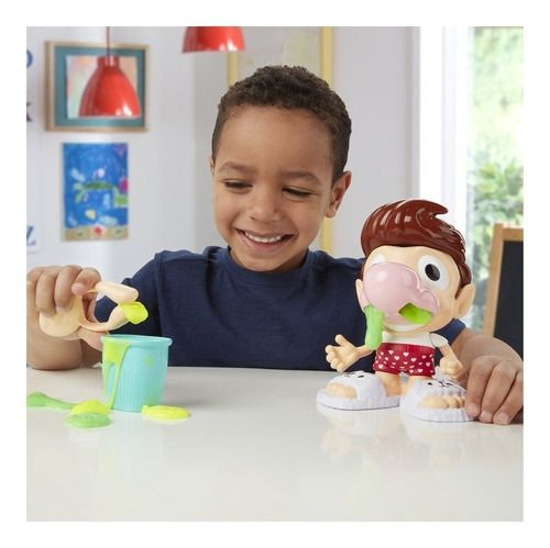 Play-doh Slime Snotty Scotty Meleca Do Nariz- Hasbro