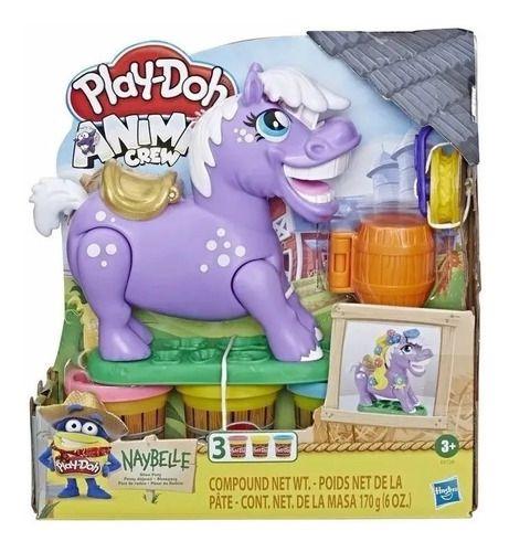 Play Doh Poney Fazendo Crina Massinha -Hasbro E6726