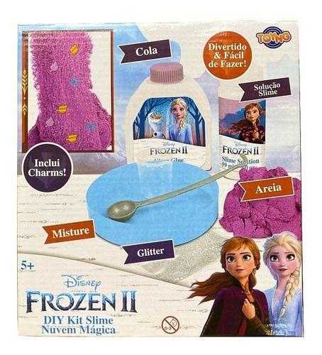 Frozen 2 Kit Slime Nuvem Mágica - Toyng 39896 full