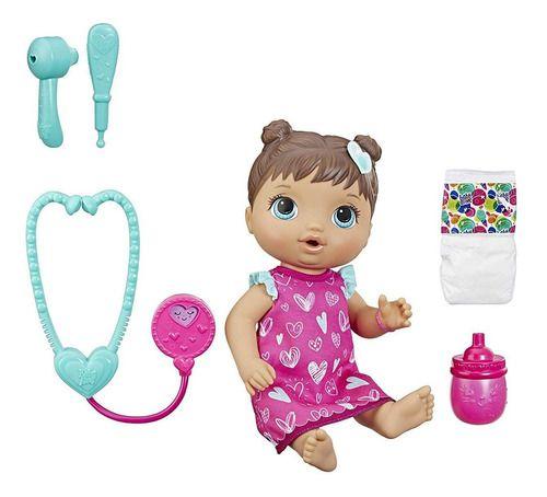 Boneca Baby Alive Cuida De Mim Morena - Hasbro E5837 full