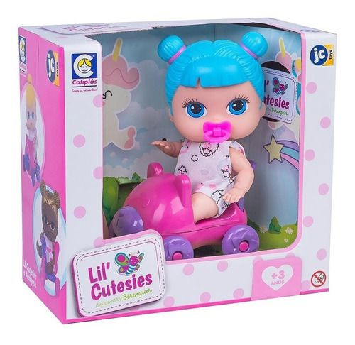 Boneca Lil' Cutesies Acessórios 19 Cm Cotiplás - 2313