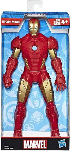 Boneco Homem De Ferro Vingadores Marvel 25cm - Hasbro E5556 FULL
