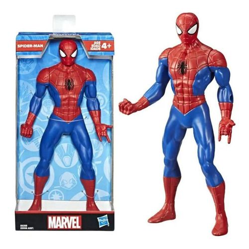 Boneco Homem Aranha Vingadores Marvel 25cm- Hasbro E5556 FULL