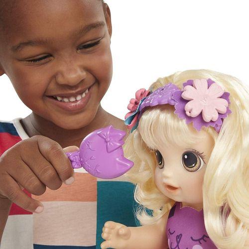 Baby Alive Boneca Penteados Diferentes Loira - Hasbro E5241
