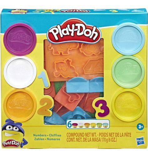 Play Doh Massinha Molde Dos Números Original - Hasbro E8533 FULL