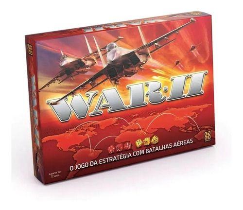 Jogo De Tabuleiro War 2 Estratégia Original - Grow FULL