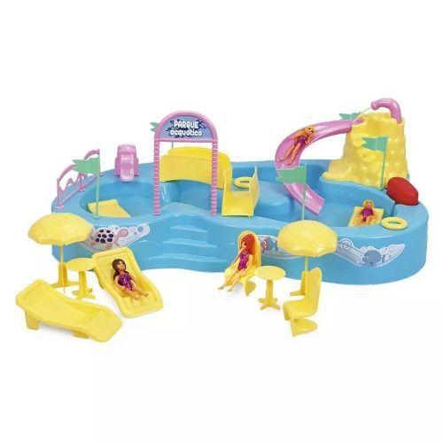 - Parque Acquático Bonecas Aquatico Homeplay Xplast 8002