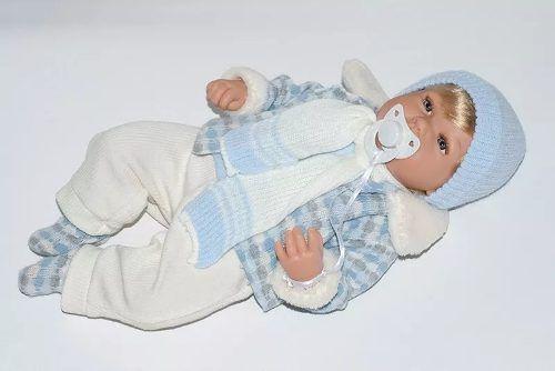 Bebe Reborn Boneco Baby Jack Elegance  - Baby Brink