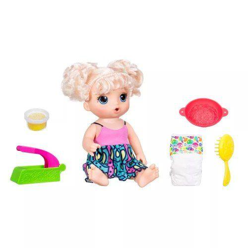 Boneca Baby Alive - Adora Macarrão - Loira - C0963 - Hasbro
