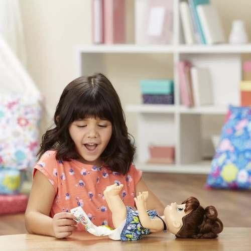 Boneca Baby Alive - Papinha Divertida - Morena - Hasbro