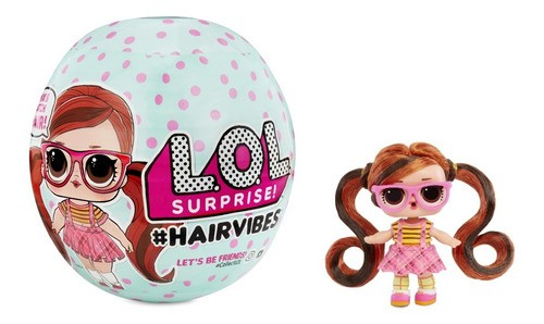Boneca Lol Surprise Hair Vibes 15 Surpresas - Candide