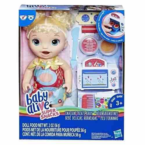 Baby Alive Meu Primeiro Forninho Loira Hasbro
