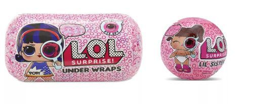 Lol Boneca Surpresa Under Wraps + Lil Sister Serie 4