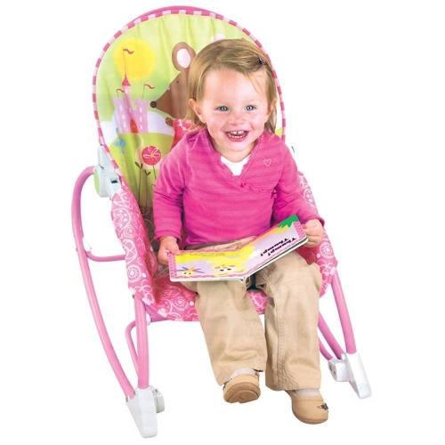 Cadeira Bebe Descanso Vibratória  Princesas - Baby Style