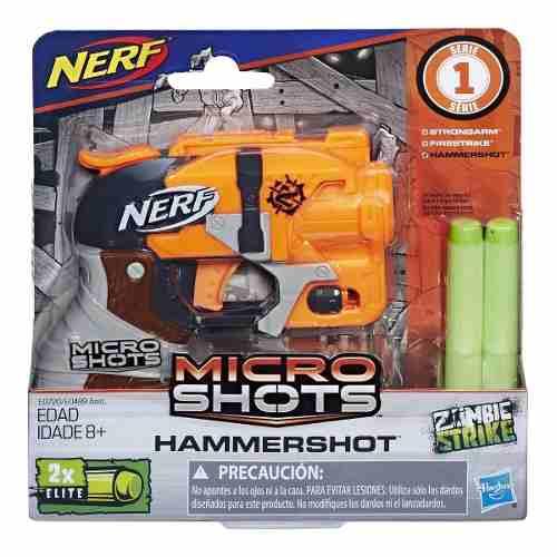 Nerf N-strike Elite Microshots Hammershot - Hasbro