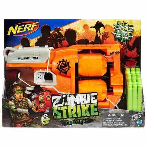 Lançador Nerf Zombie Strike - Flipfury - Hasbro