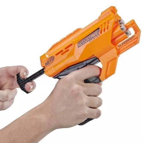 Lançador De Dardos Nerf Hasbro Quadrant