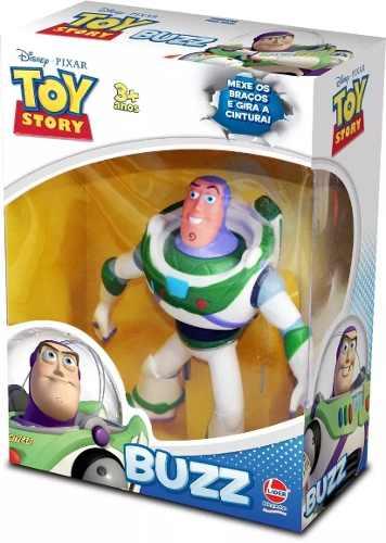 Boneco Buzz Lightyear de Vinil 18 Cm Toy Story - Lider