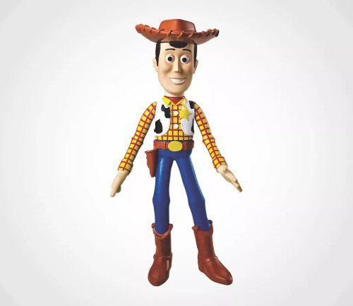 Boneco Woody Toy Story 18cm Vinil -Lider