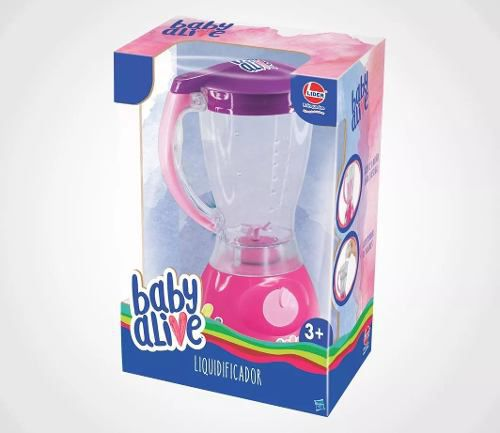 Liquidificador de Brinquedo Baby Alive - Lider 2445