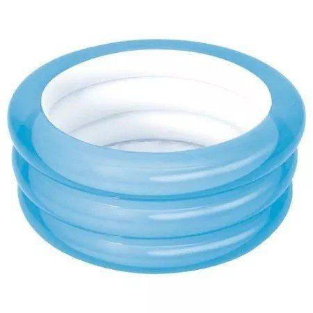 Banheira Infantil Piscina Inflável Azul 80 Litros Mor