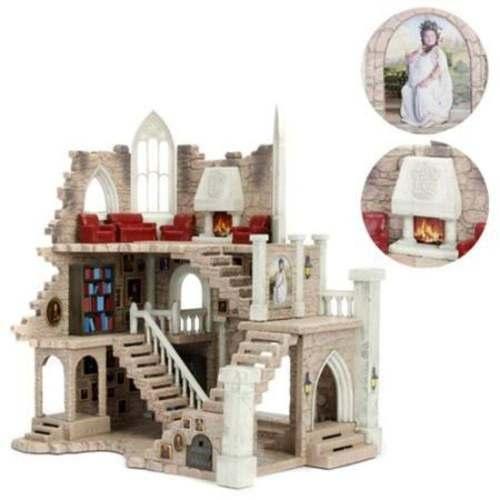 Castelo Torre Grifinória - Harry Potter C/ 2 Bonecos