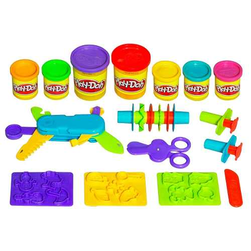 Massinha Play Doh Super Kit Multi Ferramentas Hasbro