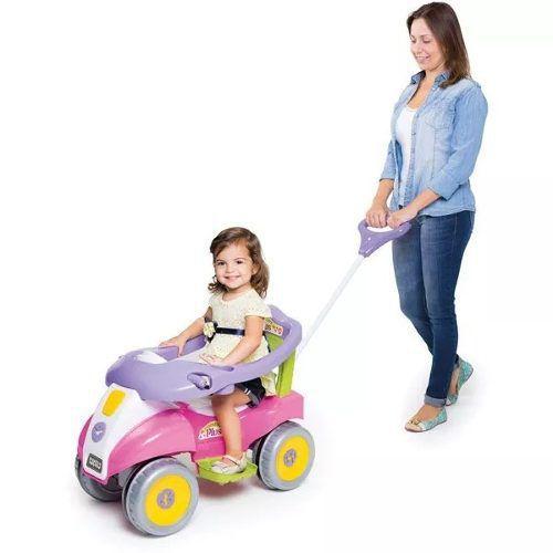 Carrinho De Passeio Confort Plus Rosa Calesita 0955