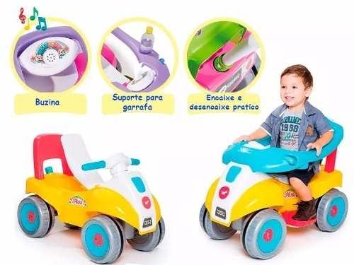 Carrinho De Passeio Super Confort Plus Infantil Calesita