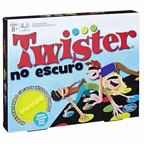 Jogo Twister No Escuro Olhos Vendados Original - Hasbro