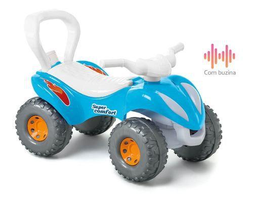 Super Confort Azul Calesita Carrinho De Empurrador Com Haste