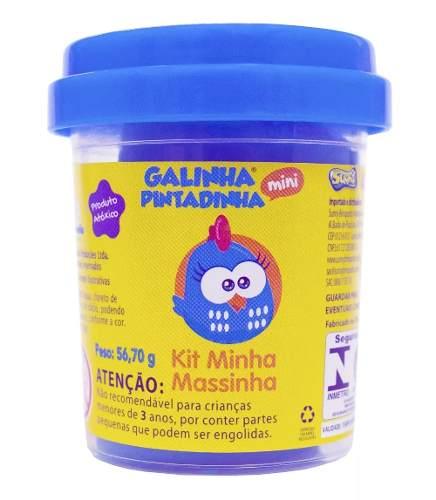 - Massinha Galinha Pintadinha - Kit Minha Massinha Com 4 Potes